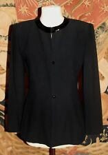 NWT Ann Taylor Black Beaded Jacket Dressy Evening Blazer Size 2