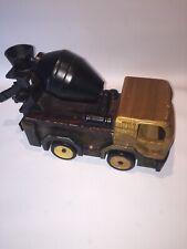Wooden Toy truck Concrete Mixer