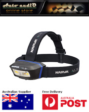 Narva 71427 ALS Rechargeable LED Head Lamp 250Lm with Green and Red functions