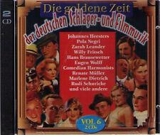 Die goldene Zeit der deutschen Schlager- und Filmmusik  - Vol. 6 | 2-CD-Album