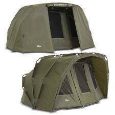 Lucx ® Bivvy + Winter Skin 2 - 3 MAN Carp Tent + Throw Carp Dome Tent Tiger