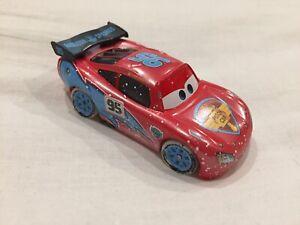 Disney Pixar Cars LIGHTNING MCQUEEN ICE RACER MATTEL 1:55 Diecast TOKYO DRIFT
