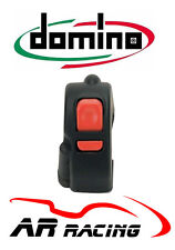 Domino Universal Start Stop / Map / Rain Light Handlebar Switch in Black
