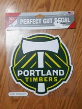 "Portland Timbers Soccer Team MLS Wincraft Green Decal Window Sticker 7.5"" RCTID"