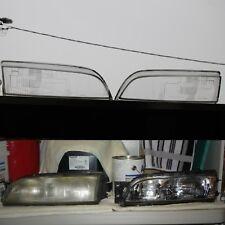 NissaN s14 Oem LENS GLASS COVER FOR 95 Zenki Headlight 200sx 240sx Silvia Sr20