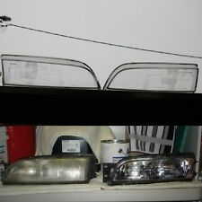 NissaN s14 (95-96) Zenki Headlight Oem LENS GLASS COVER 200sx 240sx Silvia Sr20