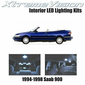 XtremeVision Interior LED for Saab 900 1994-1998 (8 PCS) Cool White