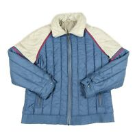 80s Vintage ELHO Padded Ski Jacket | Retro Insulated Coat Puffer Snow Quilted