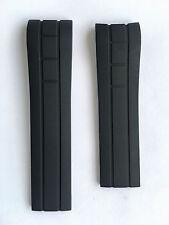 Original MIDO Multifort Black Rubber 22mm Band Strap for Back-Case M005430A