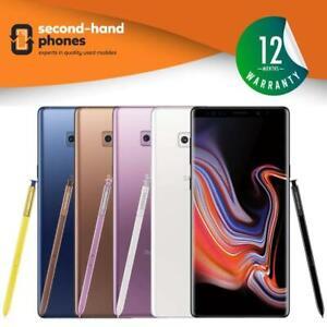 Samsung Galaxy Note 9 N960F 2018 - 128GB 512GB - All Colours - UNLOCKED