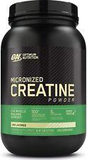 Optimum Nutrition Creatine Powder Unflavored 2000g Bottle (4.4 lbs)