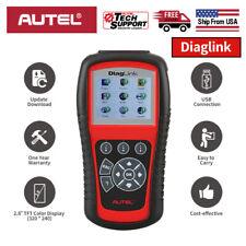 US Autel DiagLink OBDII 2 Diagnostic Scanner Full System Car Code Reader ABS SRS