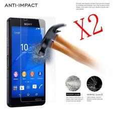 2 Pellicola Proteggi Schermo di Vetro Temperato 9H per Sony Xperia Z3 Z2 Z4 Z5