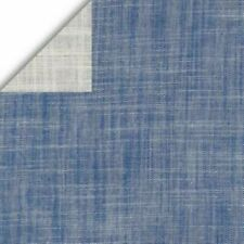 Kaufman Double Cloth Cotton Chambray Indigo Blue Fabric By The Yard
