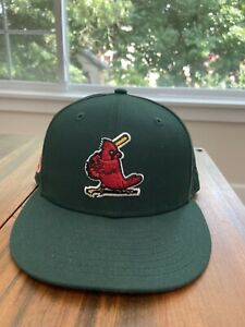 HAT CLUB EXCLUSIVE GREEN EGGS & HAM ST LOUIS CARDINALS FITTED 7 5/8