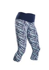 Sugoi Fusion Capri Running tights women blue/white size Small