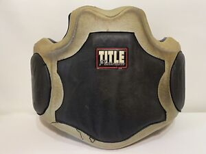 Title Boxing Platinum Body Protector PBP MMA Material Arts Boxing Fight Club Gym