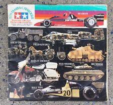 Catalogo Originale Tamiya 1979 Showcase Collection Motorcicle Auto Racing Vintag