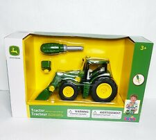 John Deere Tractor With Front Loader And Weight Brand New in Box Toy #66710-2017