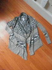 NWT Abercrombie and Fitch blanket Cardigan sweater Browns XS/S