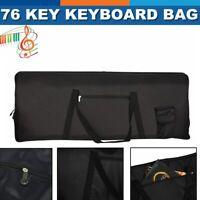 Portable 76-Key Keyboard Electric Piano Padded Case Gig Bag For YAMAHA CASIO