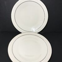 Franciscan Masterpiece MOONGLOW Dinner Plates Lot of 2 Made in USA