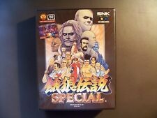 SNK Neo Geo Fatal Fury Special Japan AES-Modul good condition rare in europe