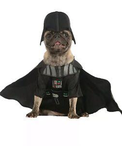 Pet Costume Darth Vader X-large  Costume