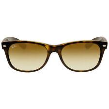 Ray Ban New Wayfarer Gold Sunglasses RB2132 710/51 55-16
