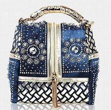 Designer Women Handbag Famous Brand Rhinestone Totes Shoulder bag Luxury bag