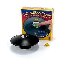 3D Optical Illusion Maker Mirascope Hologram Image Creator Magic Science Trick
