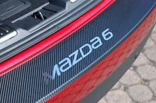 Carbon Chrom Style Ladekantenschutz Mazda 6 GH Kombi Carbonfolie
