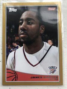 2009-10 Topps #319 James Harden Oklahoma City Thunder RC Rookie Basketball Card