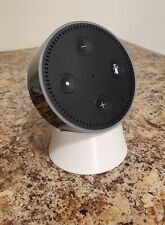 White Holder Counter Stand Chair for Echo Dot 2 2nd gen Cable Hidden