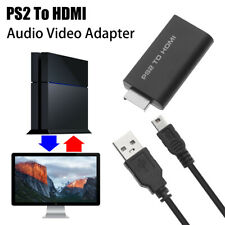 Portable Hdtv 3.5mm Audio Output Converter Audio Video Adapter Ps2 To Hdmi