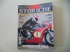 MOTO STORICHE E D'EPOCA 12/2003 MV AGUSTA 125 FAENZA/GOODWOOD/NORTON JPN