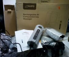 Naipo Leg Massager Cordless For Foot And Calf Massage Battery Operated Machine W