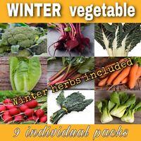 Vegetable Seeds Varieties Winter Lettuces Beetroot Rhubarb Broccoli Radish