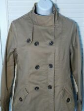 Oakley Women's Double Breasted Jacket Medium 3/4 Length Button Front Coat