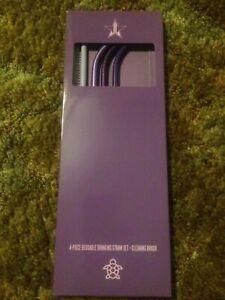 Jeffree Star Cosmetics Purple Reusable Straw Set