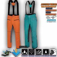 Mens Ski Trouser Windproof Sport Pant Waterproof Snow Winter Salopettes Intrinsi