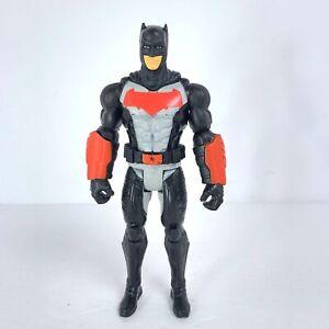 "Batman Action Figure 6"" Tall - 2015 Mattel Red Black Gray"