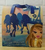 Bratz Jetset Playset Doll Airplane Lounge Bar Closet Table & Chairs  Rare
