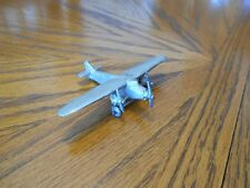 "Vintage C.A.W. Novelty Co. Ford Trimotor Monoplane, 4-3/8"" Wingspan, No 12"