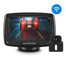 Auto-Vox Digital Wireless Car Rear View Camera Reversing Kit + 4.3″ LCD Monitor