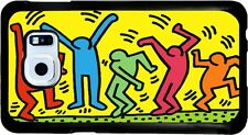 Cover per Samsung Galaxy S6 con stampa The Dancers di Keith Haring
