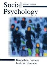 Social Psychology by Irwin A. Horowitz and Kenneth S. Bordens (2001,...