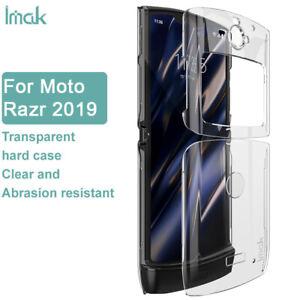 imak For Motorola Razr 2019, Transparent Crystal Soft Shell Acrylic Case Cover