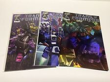 TRANSFORMERS #1-3 (DREAMWAVE PROD/DECEPTICON COVER/021654) COMPLETE SET LOT OF 3