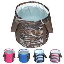 Outdoor Collapsible Foot Bath Tub Portable Folding Water Bucket for Travel Hot